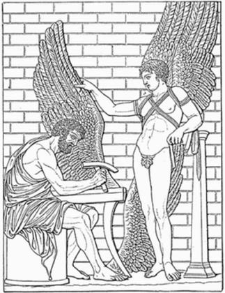Relief in a Roman Villa