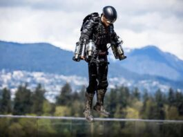 The history and future of jetpacks Mankind's obsession with personal flight in photos