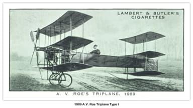 "1909 A. V. Roe I ""Triplane"""