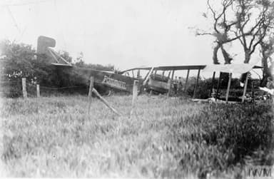 21st May 1918: Downed Gotha Bomber in Essex, England