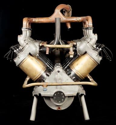 50 hp (37 kW) Antoinette Light Petrol Engine (1906 / 1907)