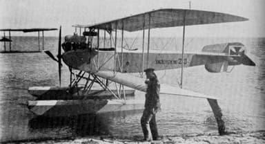 A Friedrichshafen FF.29 Lightweight Two-Seat Floatplane