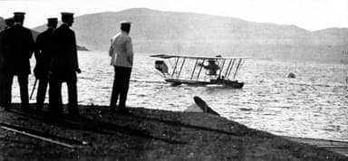 A Lohner Flying Boat (Uncertain Date)