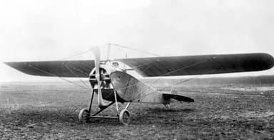 A Nieuport-Macchi Parasol in 1913