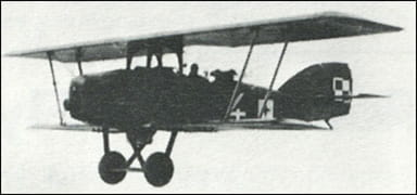 A Potez 27 in the Air