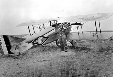 A SPAD S.XIII of the American 103rd Aero Squadron