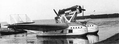 A Savoia-Marchetti S.55P of Aeroflot circa 1933