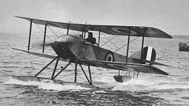 A Sopwith Schneider Similar to the Schneider Trophy Aircraft
