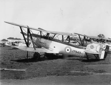 A Squadron of Fairey Foxes at the 1929 Royal Air Force Pageant