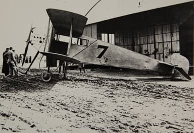"A.V. Roe ""Type G"" at the 1912 British Military Aeroplane Competition"