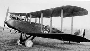 Airco DH.9 in Service with British Airforce