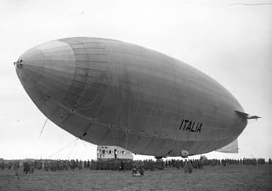 Airship Italia in April 1928