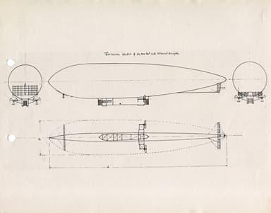 Airship Leonardo Da Vinci (Smithsonian Institute)
