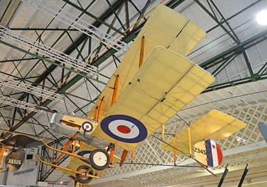 Airworthy Replica Vickers F.B.5 Gunbus Built 1966 (RAF Museum, Hendon)