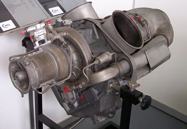 Allison T-56 Gas Turbine in C-130 Cargo Aircraft