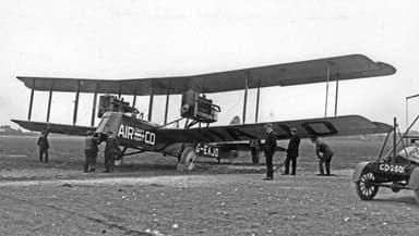 An Airco DH.10 Converted to Civilian Use