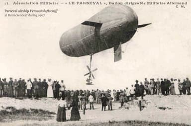 An Earlier Airship in the Parseval Range (1907)