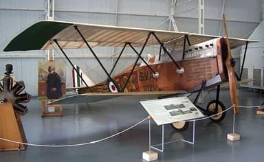 Ansaldo SVA.5 in the Vigna di Valle Air Force Historical Museum