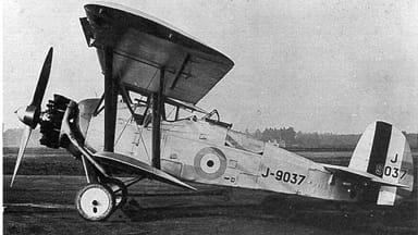 Armstrong Whitworth Aries Variant Showing Leading Edge Slats