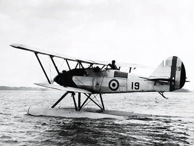 Armstrong Whitworth Atlas I Seaplane Undergoing Trials