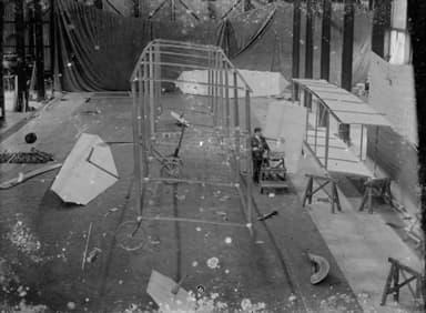 Army Airplane 1 Taking Shape (1908)