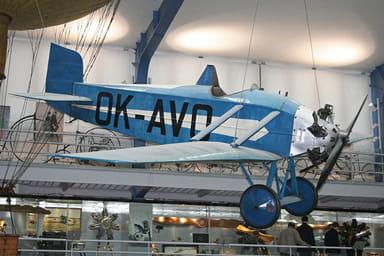 Avia BH-10 at National Technical Museum, Prague, Czech Republic