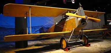 Aviatik D.I at The Museum of Flight, Seattle