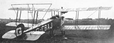 Avro 548 with Banner-Towing Attachment (Henderson School of Flying (1927)