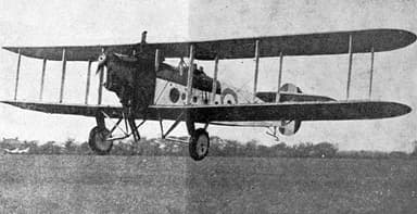Avro 549C Aldershot IV photo from L'Air February 15, 1927