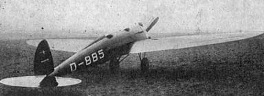 Bäumer Sausewind Les Ailes July 21,1927