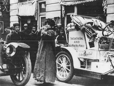 Blanche Stuart Scott's 'Lady Overland' Automobile (1910)