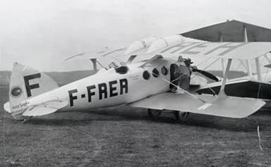 Blériot-SPAD S.46 in Use by Franco-Roumaine Airline