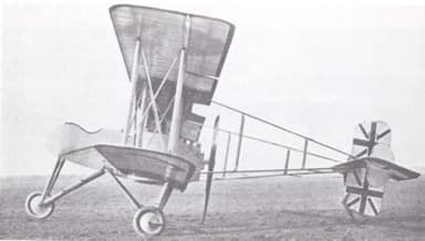 Bréguet Bre.4 Derivative Operating with Royal Naval Air Service (1916)
