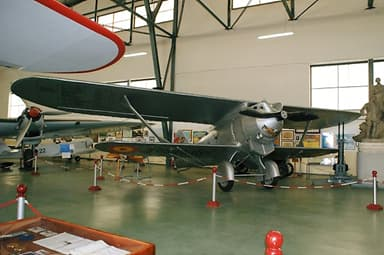 Breguet XIX in the Museo del Aire at Cuatro Vientos Air Base, Madrid, Spain