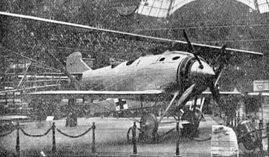 Breguet XIX prototype (Photo from L'Aerophile December,1921)
