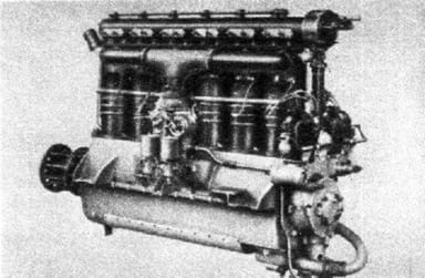 Breitfeld-Danek Perun II Engine