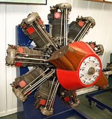 Bristol Jupiter VII Engine on Display at the Shuttleworth Collection