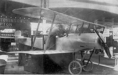 Bristol Scout prototype at the 1914 Olympia Aero Show