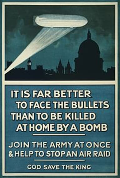 British Recruiting Poster from 1915