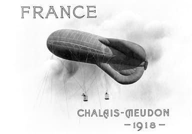 Chalais - Meudon Blimp (France, 1918)
