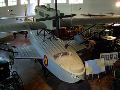 Civilian Dornier Do J in Luján Museum in Buenos Aires, Argentina