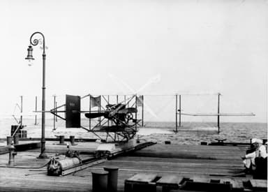 Compressed Air Catapult of the Type Used for First Attempt