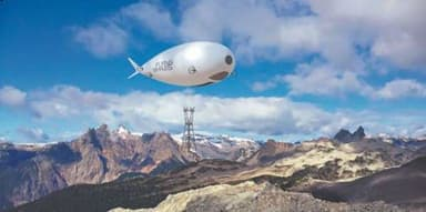 Concept Flying Whale Delivers an Electricity Pylon