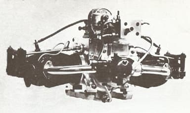 Contemporary Douglas Horizontally Opposed Twin Cylinder Engine
