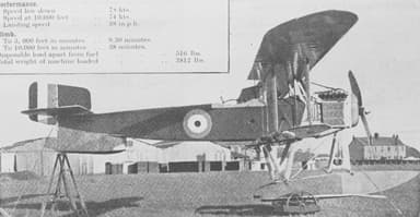 Contemporary Fairey N.9 / F.127, Perhaps With Detachable Wheels