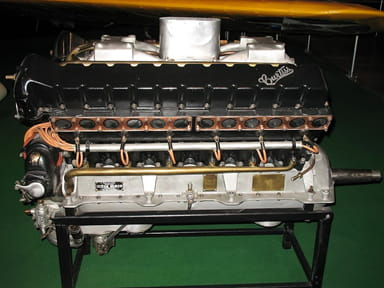 Curtis D-12 1,147 Cubic Inch V-12 Engine