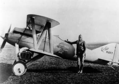 Curtiss CR-1 in which Bert Acosta Achieved an Average Speed of 176.75 mph