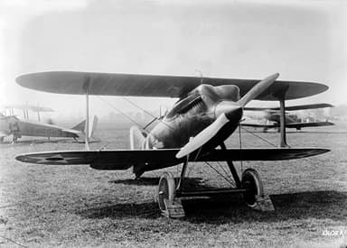 Curtiss R-6 That Won the 1922 Pulitzer Trophy at Average Speed of 206 mph