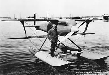 Curtiss R3C-2 Floatplane Racer at Langley (1928)