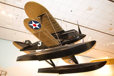 Curtiss R3C-2 at the National Air and Space Museum, Washington